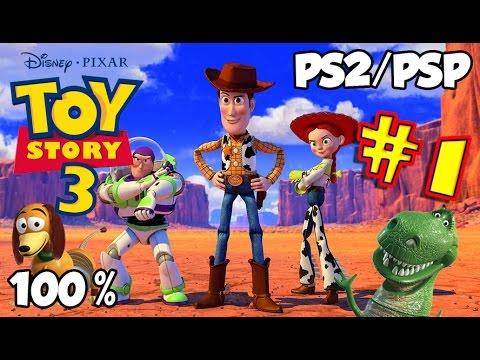 Disney S Toy Story 3 Walkthrough 100 Ps2 Psp Youtube