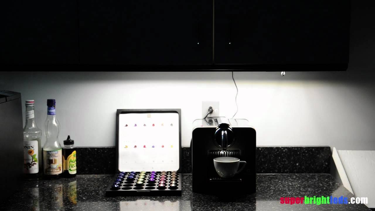 Best Kitchen Gallery: Luxbar Pir Motion Sensor With Led Light Bar Installed In And Under of Led Light Bars For Kitchen on rachelxblog.com