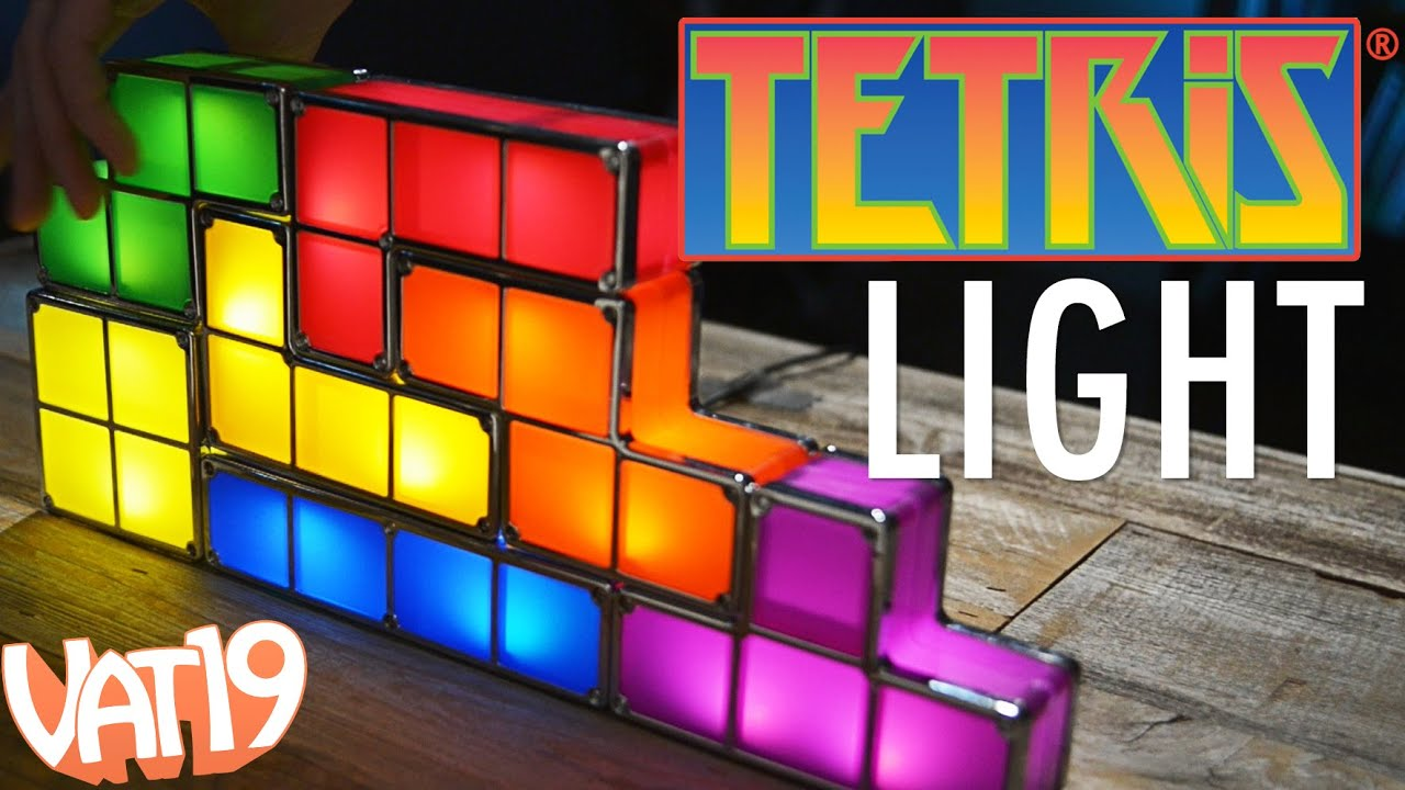 Play a real-world Tetris Lamp! - YouTube