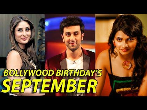SEPTEMBER2014 | Bollywood Celebrities Birthday