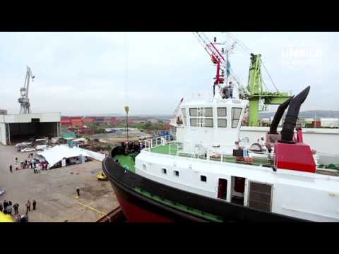 Transnet National Ports Authority Launches UMBILO tug