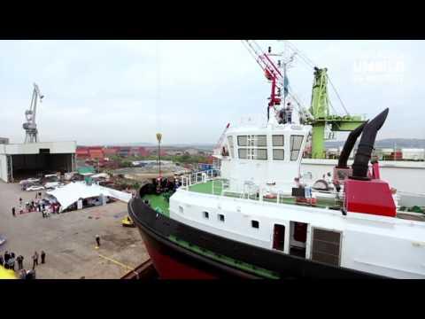 Transnet National Ports Authority Launches UMBILO tug