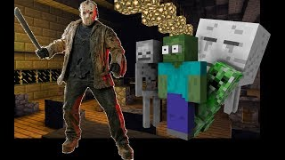 Monster School : HALLOWEEN Horror Movie Challenge - Minecraft Animation