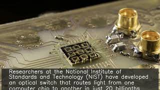 Researchers make rapid light-rerouting switch for computer chips