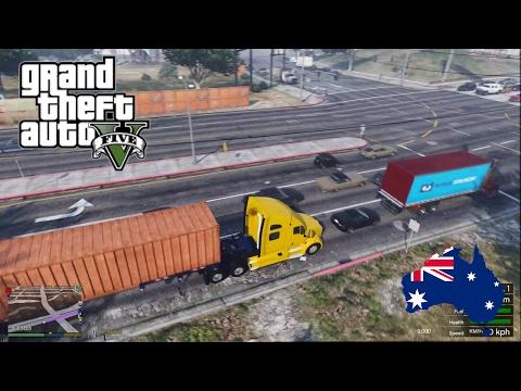 GTA 5 Mods - RAGE Transportation - Australian Truck Simulator?! (GTA 5 Trucking Mod for PC)