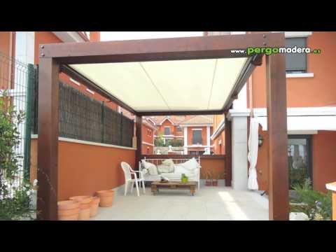 Pergolas y porches de estilo moderno youtube - Pergolas y porches ...