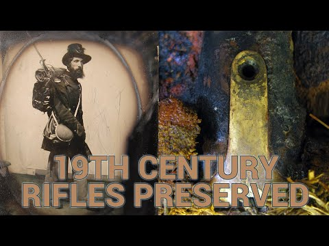 19th century rifles fished up 200 miles offshore