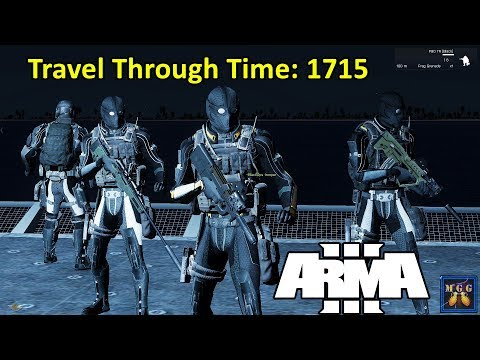 Chasing Down A Rogue Time Traveler To 1715 | Arma 3
