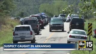 Manhunt underway. Suspect shot at least 2 police officers - Sebastian County, Arkansas