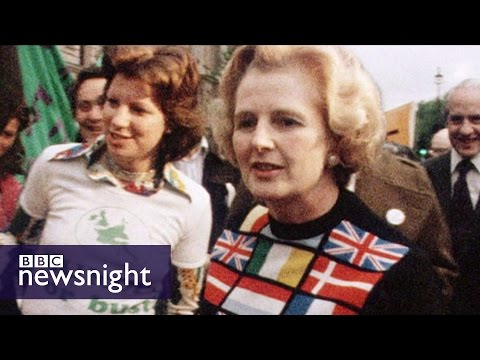 EU referendum... lessons from 1975: Michael Cockerell - BBC Newsnight