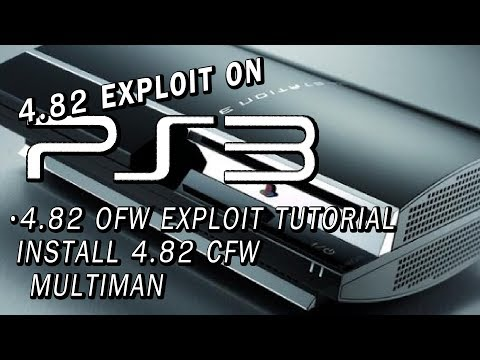 PS3 4.82 OFW Exploit Tutorial | Install 4.82 CFW! | Multiman | Many models supported!