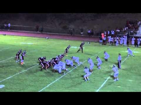 Joe Burk #12 Jr year football highlights 2013