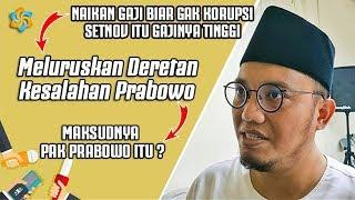 PASCA DEBAT ! Tim Sukses Sibuk Meluruskan Deretan Kesalahan Prabowo