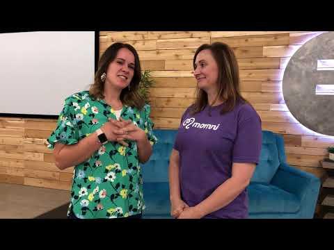 Momni founder Karmel Larson and Elisa Hassler Administrative Support
