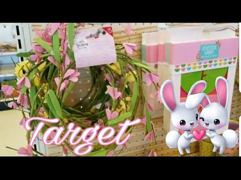 TARGET BULLSEYE PLAYGROUND SPRING & EASTER SHOP WITH ME