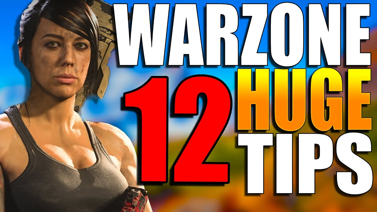 12 Beginner Warzone Tips to get Better at WARZONE! Warzone Training! (Warzone Movement Tips)