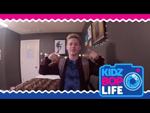 KIDZ BOP Life: Vlog # 2 - Cooper goes to The Harlem Globetrotters game