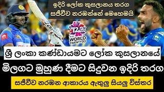 ICC T20 World Cup 2021 Live Channels|T20 World Cup 2021|Sri Lanka|Sri Lanka Cricket|cricket lokaya