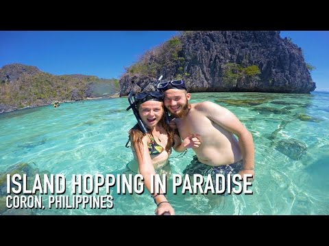 ISLAND HOPPING IN PARADISE!!!! | Coron, Philippines