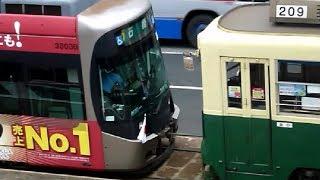 救援列車 路面電車バージョン まさかの4両編成!?