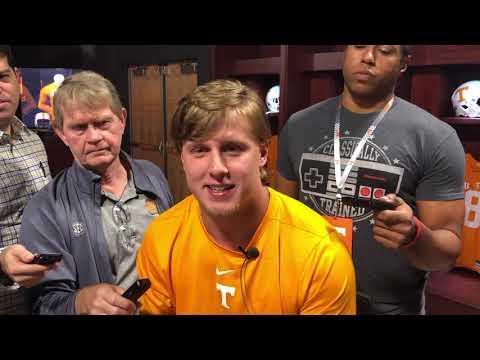Tennessee football: Austin Pope discusses Alabama and South Carolina prep