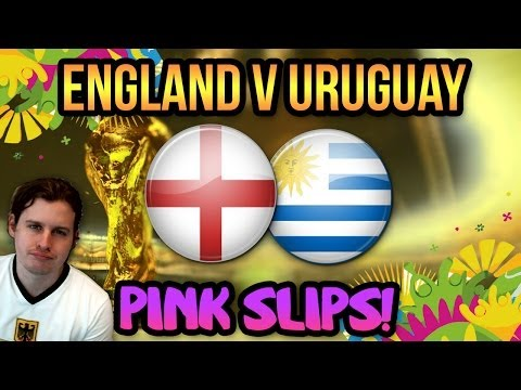 ENGLAND V URUGUAY WORLD CUP PINK SLIPS! FIFA 14 ULTIMATE TEAM