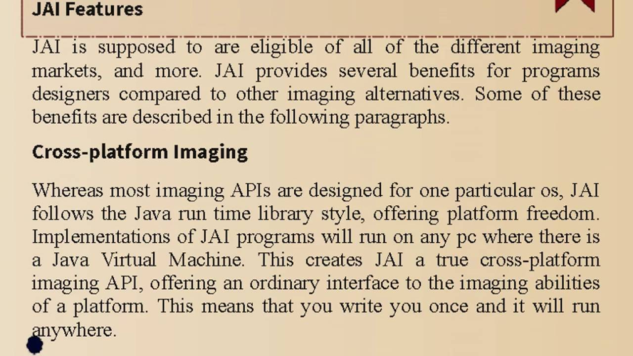 Introduction to java advanced imaging youtube introduction to java advanced imaging baditri Images