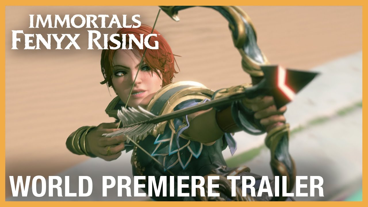 Immortals Fenyx Rising: Official World Premiere Trailer | Ubisoft Forward 2020 | Ubisoft [NA]