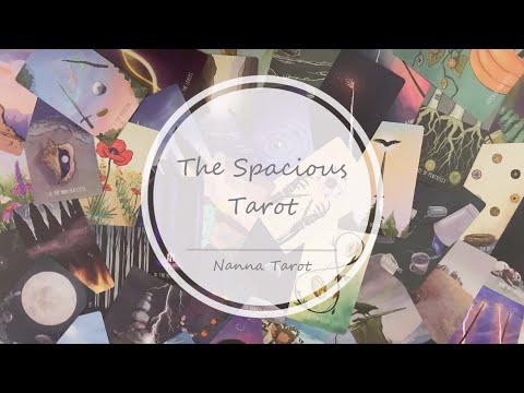 開箱  宇宙場域塔羅牌 • The Spacious Tarot // Nanna Tarot