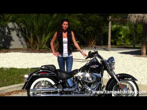 New 2013 Harley-Davidson FLSTN Softail Deluxe in Vivid Black for Sale