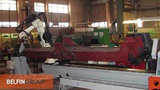 Роботизированный Сварочный Комплекс - сварка балок тепловоза(Универсальный сварочный комплекс, предназначен для автоматизации сварочных процессов при производстве..., 2013-05-07T11:51:38.000Z)
