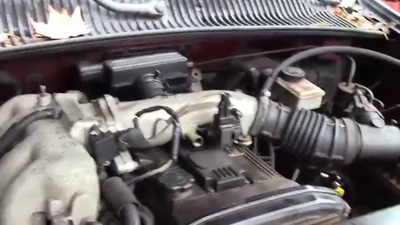 2002 Kia Sportage 4x4 Burgundy For Parts