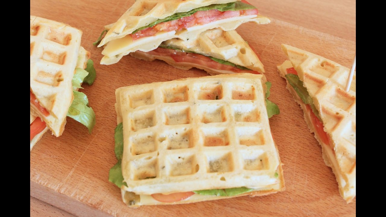 Ricetta Waffle Di Benedetta.Waffle Salati Ricetta Veloce Fatto In Casa Da Benedetta Rossi