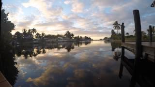 Timelapse: Sunrise Cape Coral 25. Januar 2015