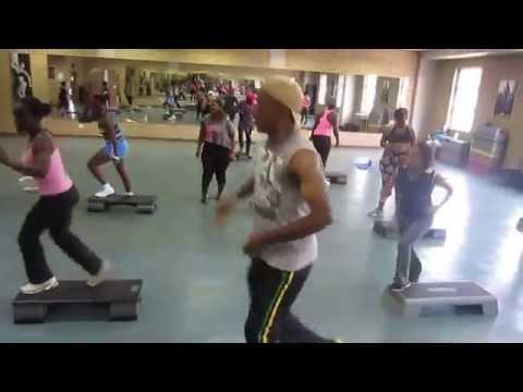 BIG NUZ ft KHAYA MTHETHWA - INCWADI YOTHANDO Step Aerobics choreography