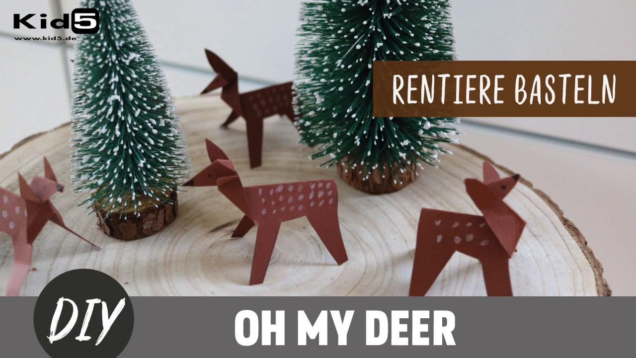 Oh My Deer Hast Du Lust Ein Paar Süße Rentiere Zu Basteln