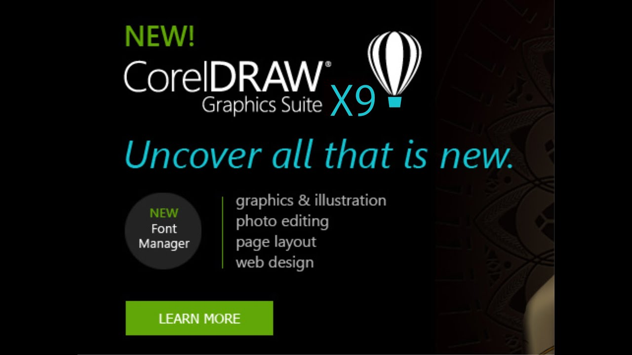 Corel draw version - Coreldraw Graphics Suite X9 Graphic Design Software Crack Keygen X Force Core Xforce Youtube