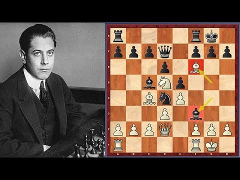 Hahaha! See What Happened When Capablanca's Opponent Copied His Moves
