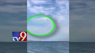 SHOCKING : Italian Eurofighter Typhoon jet crashes into sea during airshow TV9