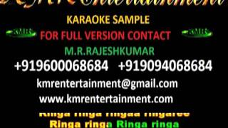 RINGA RINGA - ARYA 2 (VIDEO KARAOKE) TELUGU KARAOKE BY KMR ENTERTAINMENT