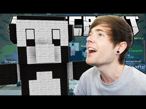 Minecraft | LEGENDARY PANDA!! | Build Battle Minigame