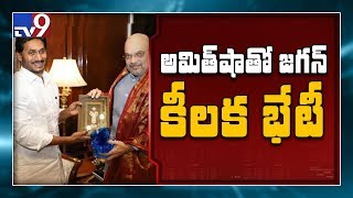 CM Jagan birthday wishes to Amit Shah in Delhi tour - TV9