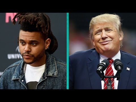 The Weeknd and Rapper Belly Cancel 'Jimmy Kimmel Live' Performance Because of Donald Trump