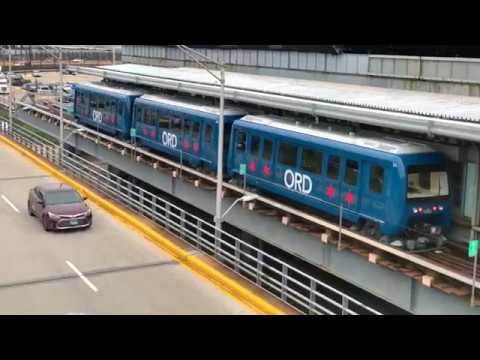 Brand New Trains For O'Hare ATS!!