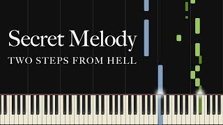Secret Melody by Two Steps From Hell (Piano Tutorial)