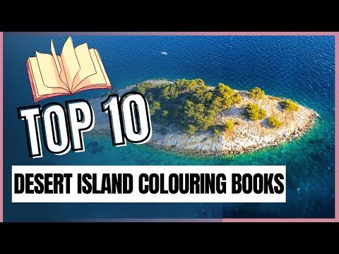 Top 10 Desert Island Colouring Books Tag