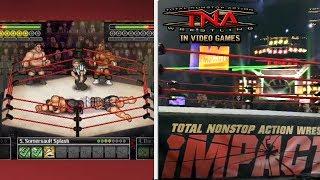 The Evolution of TNA in Wrestling Video Games