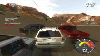 Ford Racing: Off Road (PC version) gameplay