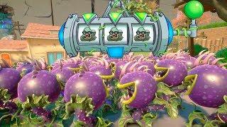 999 CARNIVORAS VS 3 MEGA ZOMBISTEIN | Plants Vs Zombies: Garden Warfare 2