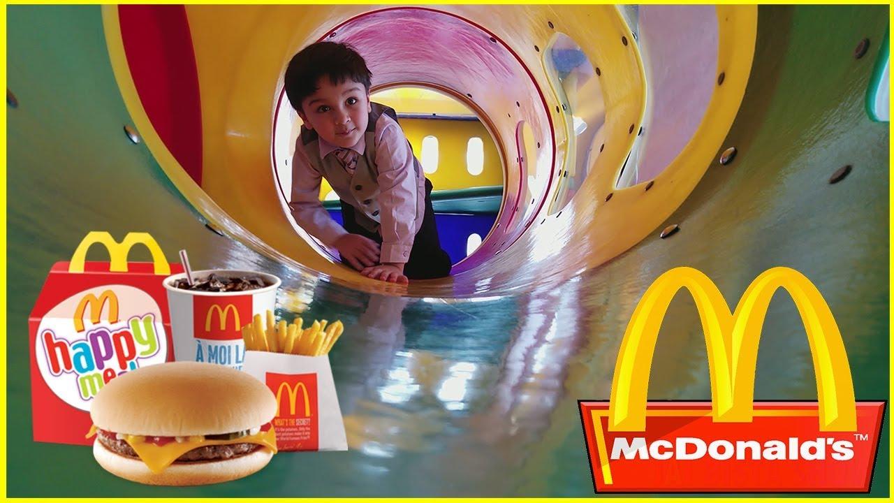 Mcdonalds Indoor Playground For Kids Happy Meal Peter Rabbit